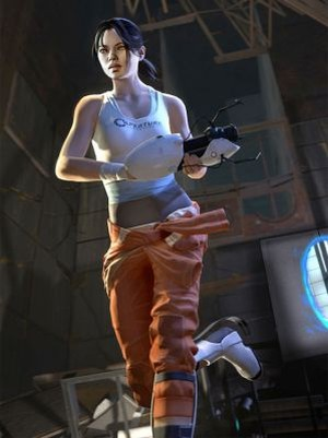 portal 2 chell. If your game#39;s protagonist is