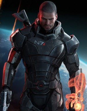I still have no idea who this dude is supposed to be. Shepard is a girl.