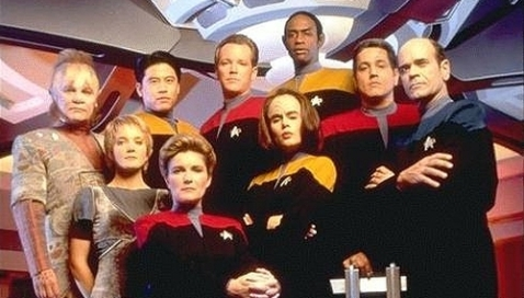 I've made extensive use of TrekCore's various promotional images here; it's a great resource.