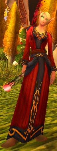 I should be glad that Mists at least used the Blood Elves to good effect.