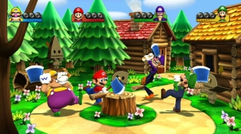 I'm not saying that Mario Party leads to violence, I'm saying that it should.
