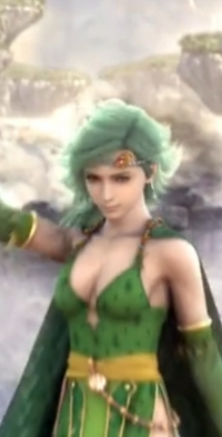 The fact that the game glosses over how screwed over Rydia has been is kind of disturbing.